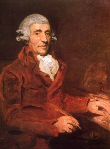 Franz Joseph Haydn in London. John Hoppner (1791)