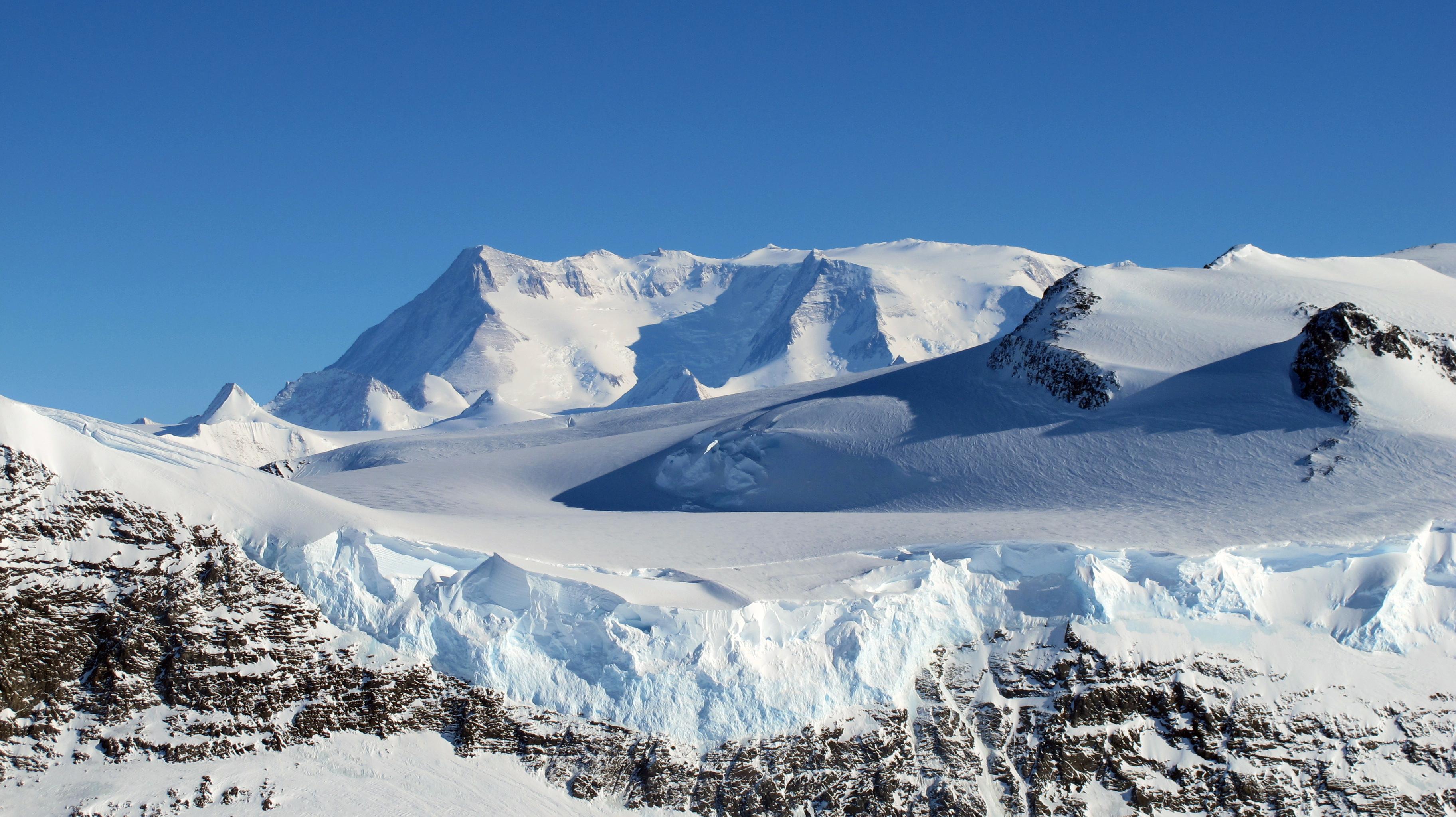 Ellsworth mountains, Antarctica.