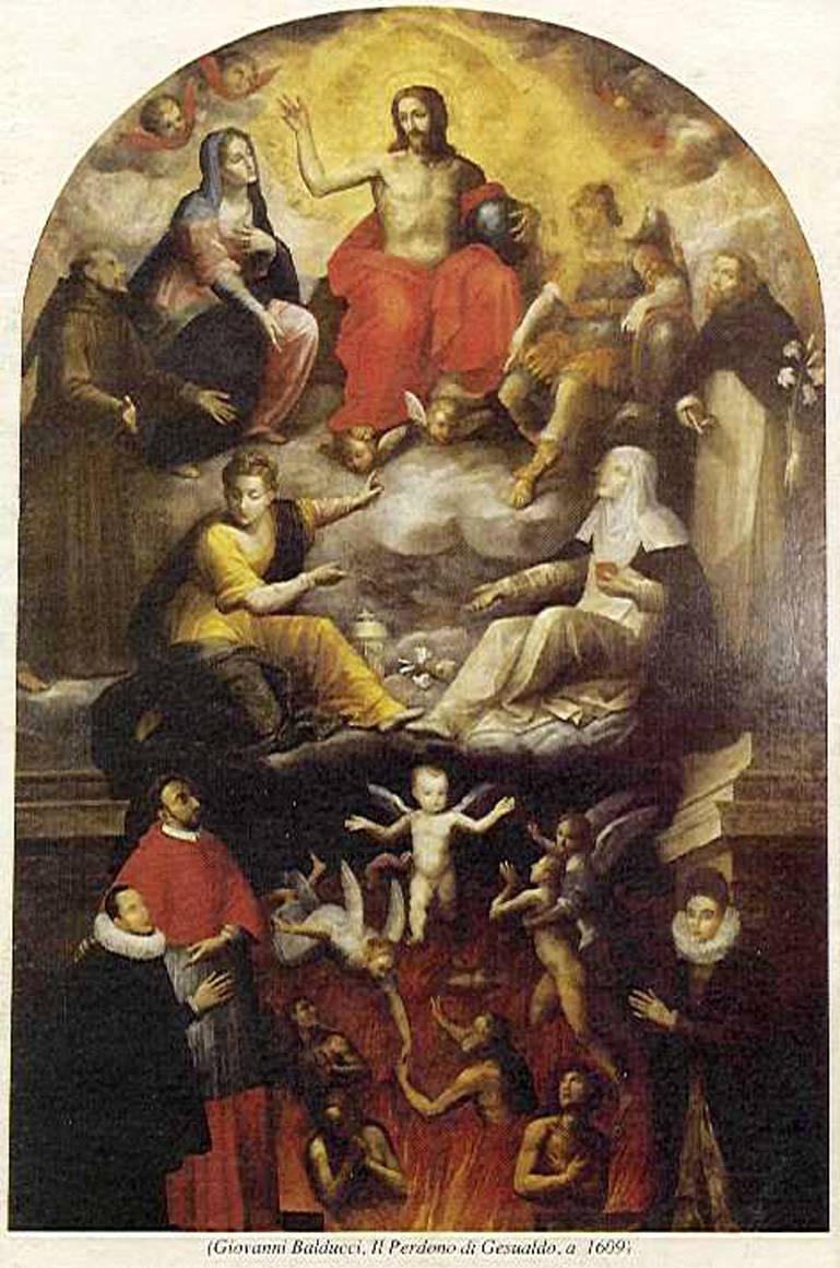 The Forgiveness of Carlo Gesualdo, Giovanni Balducci (1609)