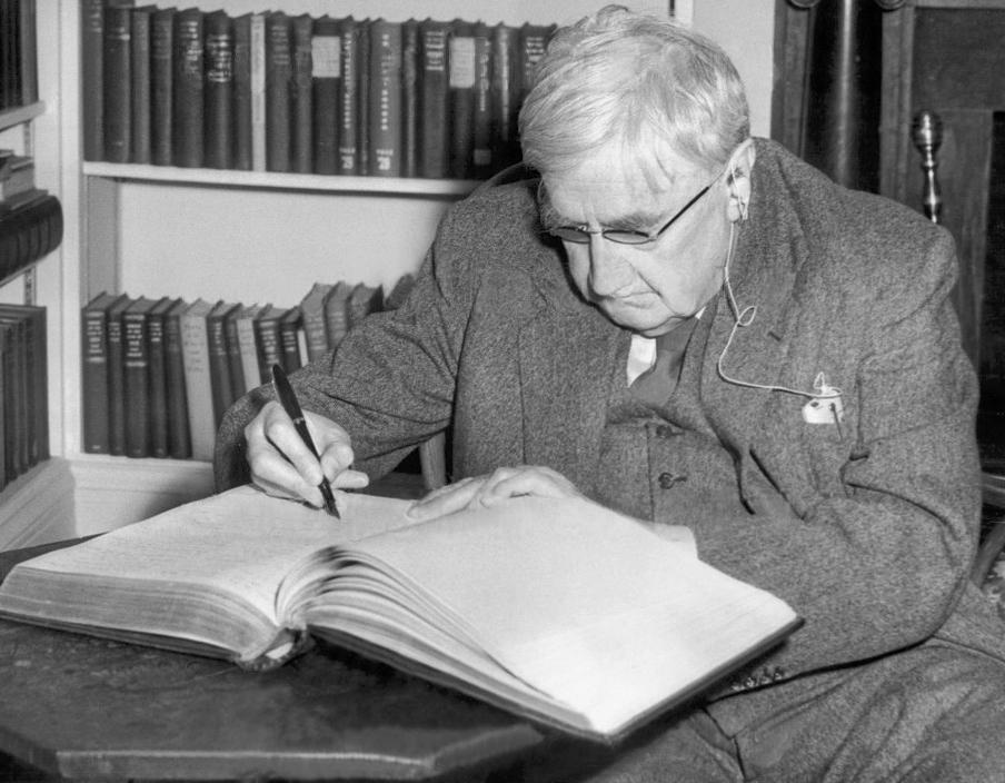 Ralph Vaughan Williams, 1954