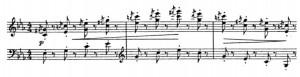 Kangaroos. From the music score.
