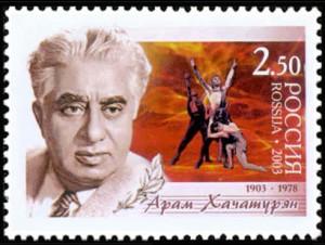 100th anniversary of Aram Khachaturian 1903-1978 (2003)