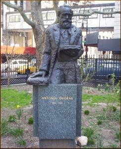 Antonín Dvořák Statue by sculptor Ivan Meštrović, Stuyvesant Park, New York