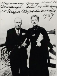 Boulanger and Stravinsky, 1937