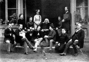 Liszt and his students (1884)