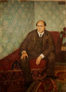 Portrait of Arnold Schönberg (1905). Richard Gerstl