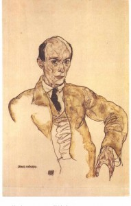 Portrait of Arnold Schönberg (1917). Egon Schiele