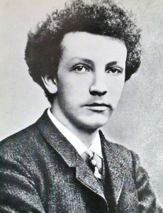 The young Richard Strauss, 1888