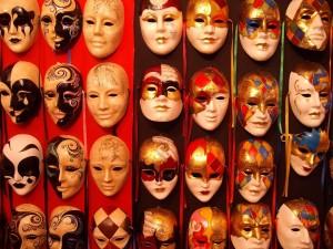 Masks. Venice