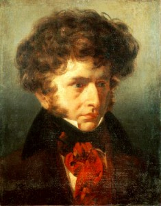 Portrait of Berlioz, 1832
