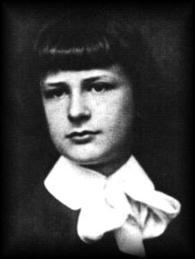 Baron Władysław Moes as a boy