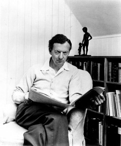 Benjamin Britten in the mid 1960s