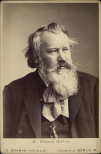 Johannes Brahms, 1889