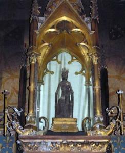 Vierge noire de Rocamadour.