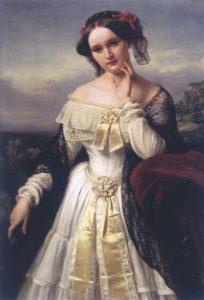 Mathilde Wesendonck, 1850.