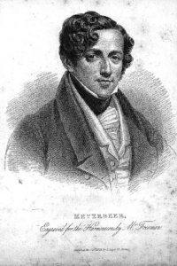 Giacomo Meyerbeer, 1825.